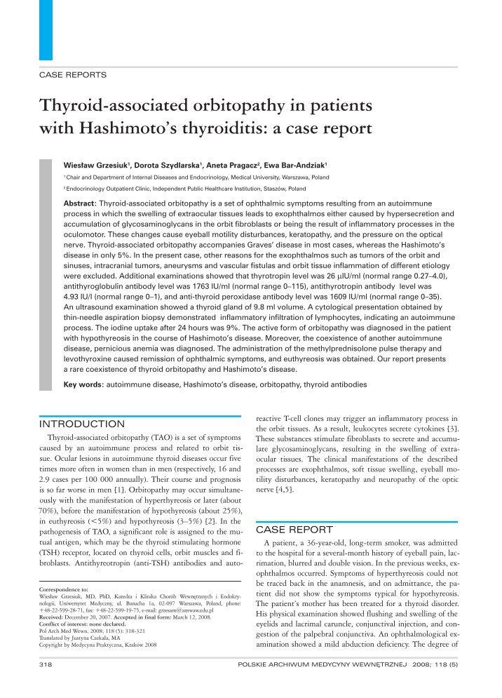 Methylprednisolone And Eye Diseases