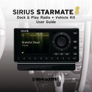 Dock & Play Radio + Vehicle Kit User Guide - Shop Sirius Satellite ...