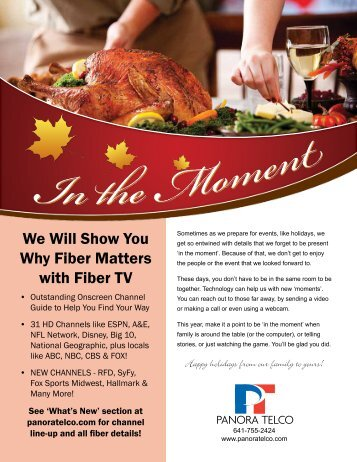 We Will Show You Why Fiber Matters with Fiber TV
