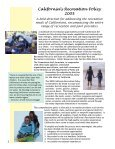 California's Recreation Policy - California State Parks - State of ... - Page 2