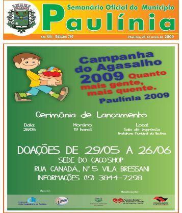 atos do poder executivo - Prefeitura Municipal de Paulínia - Governo ...