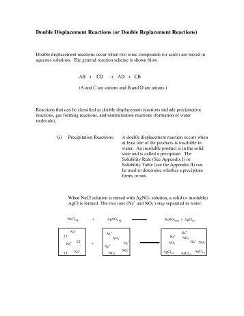 All Worksheets » Decomposition Reaction Worksheet - Free Printable ...