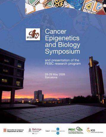 PEBC Report - Programa de Epigenética y Biología del Cáncer