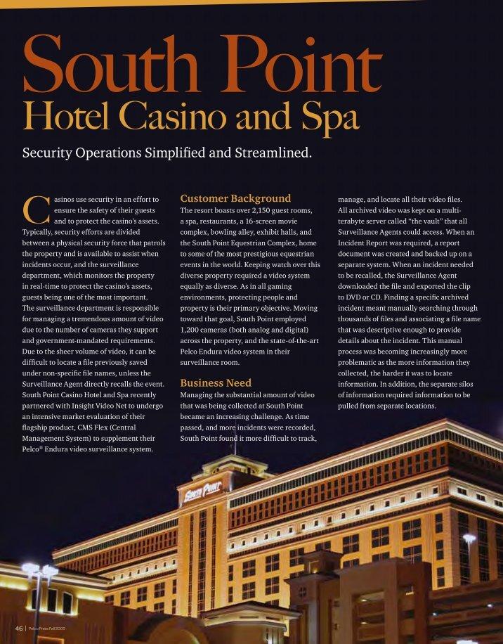 South point casino employment viejas casino free bus