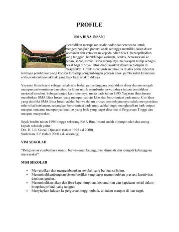 PROFILE - Pendis kemenag RI