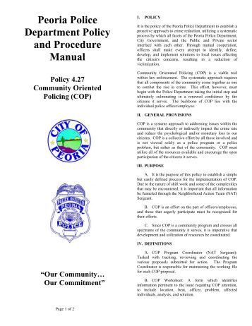 what is a policy and procedure manual