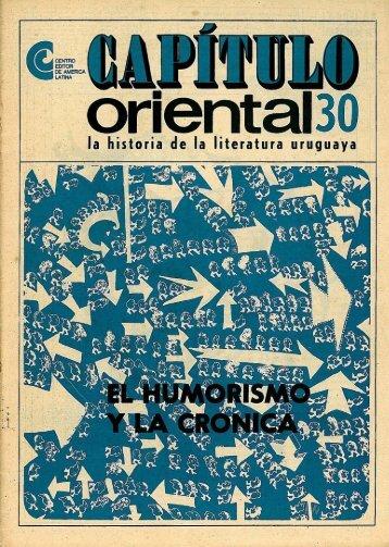Nº 30 - El humorismo y la crónica - Publicaciones Periódicas del ...