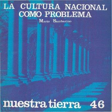 Nº 46- La cultura nacional como problema / Mario Sambarino