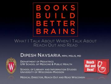 Books build better brains, 2.0 - Childrens Health Alliance of Wisconsin