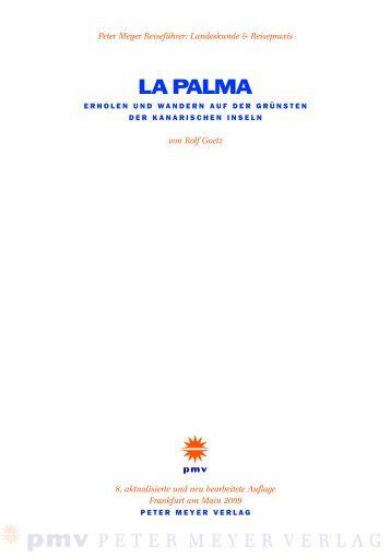 LA PALMA - Peter Meyer Verlag