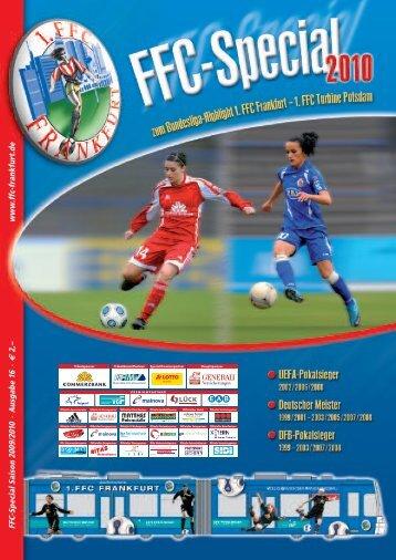 2 Das FFC-Bundesliga-Team auf einen Blick - 1. FFC Frankfurt e.V.