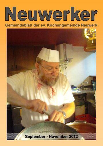 Gemeindebrief 2012-3 Homepage - Ev. luth. Kirchengemeinde ...