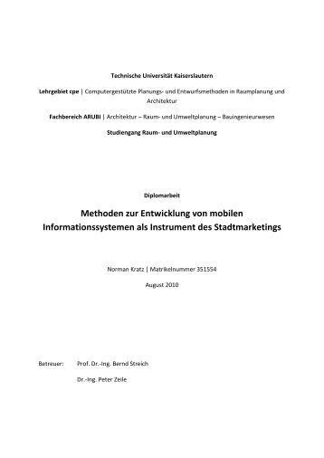 Diplomarbeit zum Download - cpe - Universität Kaiserslautern