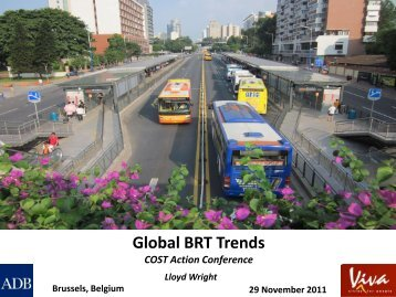 World-wide trends in high-quality bus systems