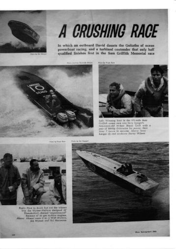 1966 sam griffith - Powerboat Archive