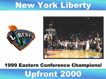 New York Liberty Upfront 2000 - Power to Learn