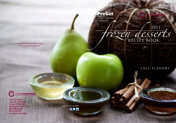 frozen desserts - PreGel America