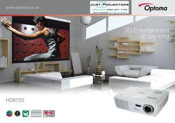 HD6720 - Projector