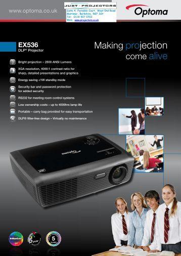 EX536 - Projector