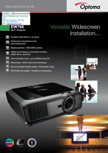 EW766 - Projector