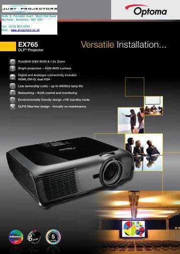 EX765 - Projector