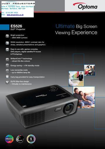 ES526 - Projector