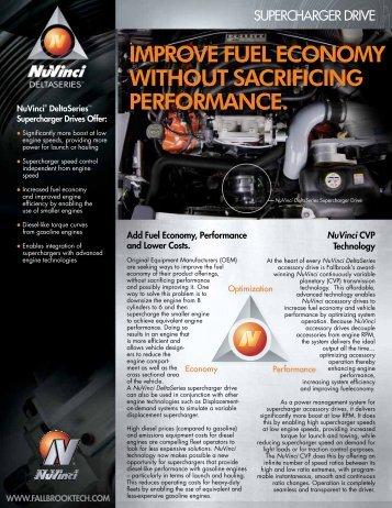 Supercharger Datasheet - Fallbrook Technologies Inc.