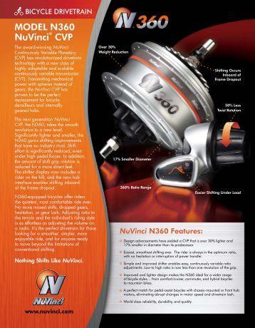N360 Datasheet - Fallbrook Technologies Inc.