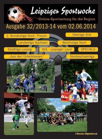 Ausgabe 32/2013-14 vom 02.06.2014