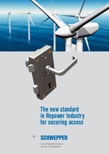 Broschüre GSV-Produktstandard Windkraft / leaflet GSV product standard wind power - Schwepper