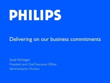 Delivering on our business commitments