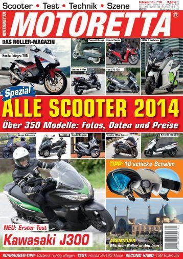 Motoretta 1/2014: Der große Marktüberblick