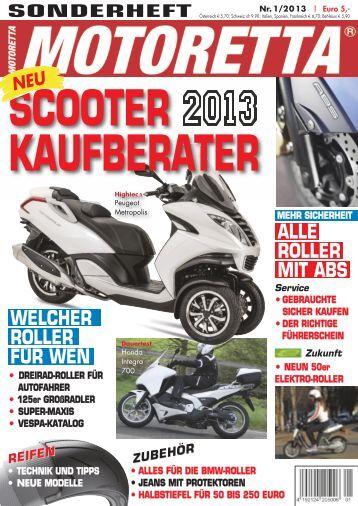 Motoretta Kaufberater 2013
