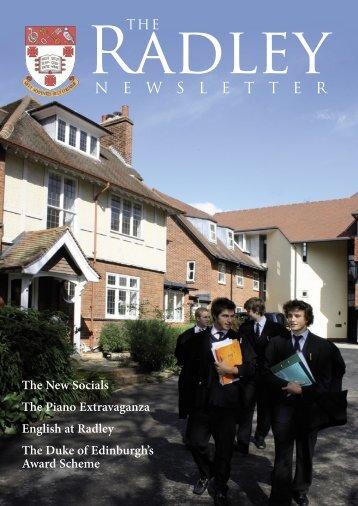 N E W S L E T T E R - Radley College