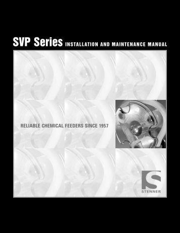 Installation and Maintenance Manual - Res-Kem Corporation