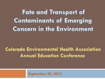 September 30, 2011 - Public Health Alliance of Colorado