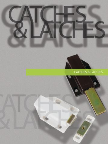 magnetic touch latch - Richelieu
