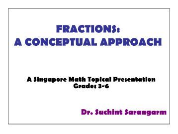 how to write a conceptual approach