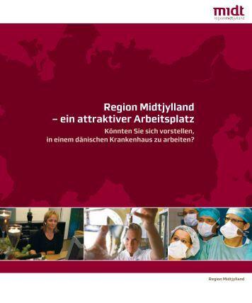 Region Midtjylland – ein attraktiver Arbeitsplatz