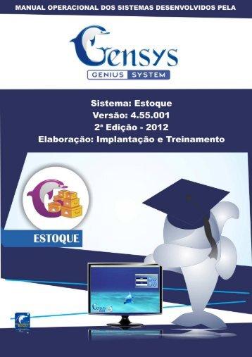 Manual Estoque 4.55 - NOVA VERSÃO - AGENDA DE VISITA