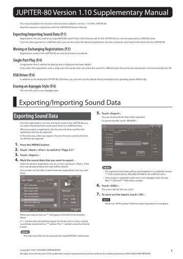 roland fp 80 manual pdf