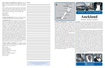 Port Explorer - Auckland - Royal Caribbean International