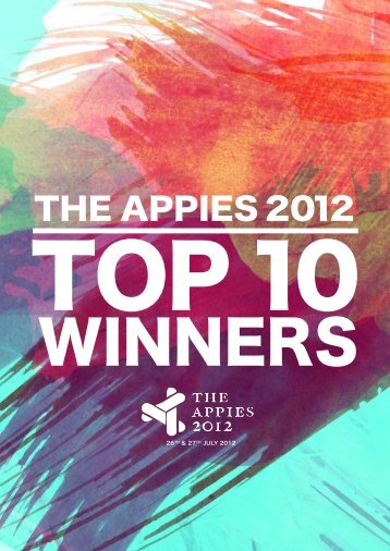 THE APPIES 2012
