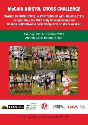 McCAIN BRISTOL CROSS CHALLENGE - Bristol Half Marathon