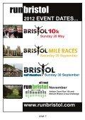 McCAIN BRISTOL CROSS CHALLENGE - Bristol Half Marathon - Page 4