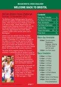 McCAIN BRISTOL CROSS CHALLENGE - Bristol Half Marathon - Page 5