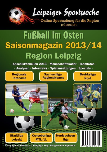 """Saisonmagazin 2013/14 """"Fußball im Osten"""""""
