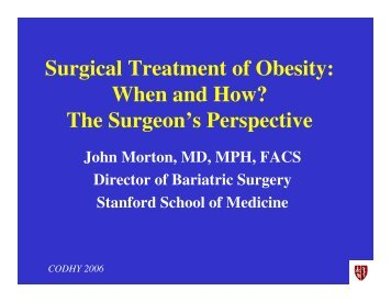 surgical treatment of obesity pdf