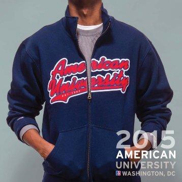 American University undergraduate viewbook