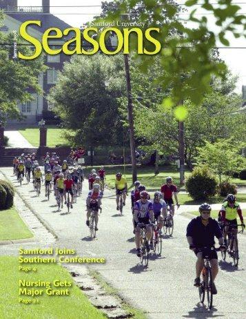 Summer 2008 - Seasons fall 04-jy - Samford University